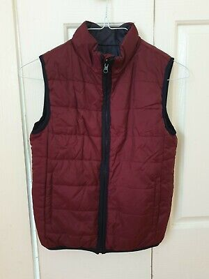 Boys size 12 'Witchery' reversible puffer vest