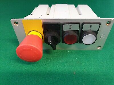 Siemens Stop / Start Button Switch Panel Assembly