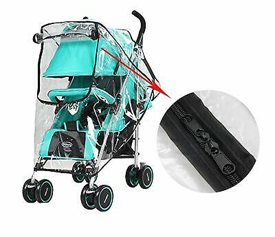 Zipper Rain Wind Cover Shield Protector for MOUNTAIN BUGGY Baby Child Strollers