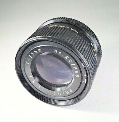 Phago 75mm f/3.5 Enlarger Lens - M39 Mount