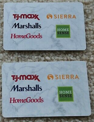 HomeGoods $20.47 Gift Card Cards Home Goods Merchandise Credit