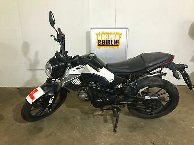 Kymco K-Pipe 50, 70cc kit, 2014, white, geared, delivery