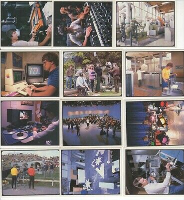 New Zealand Cereal Trade Cards. Television in NZ. FULL SET of 20