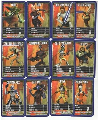 Star Wars (Rise of the Bounty Hunters) Collector Cards