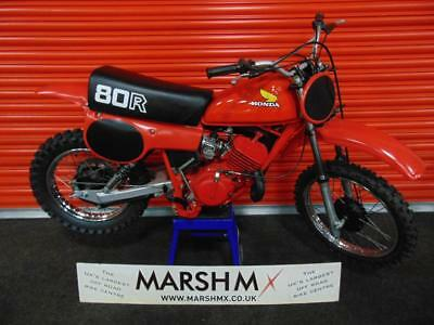 Honda CR80 1980 Model EXEPTIONAL CONDITION-MUST BE VIEWED