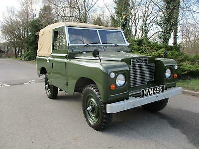 1969 Land Rover SERIES 2A SWB Soft Top Petrol 4x4 Petrol Manual