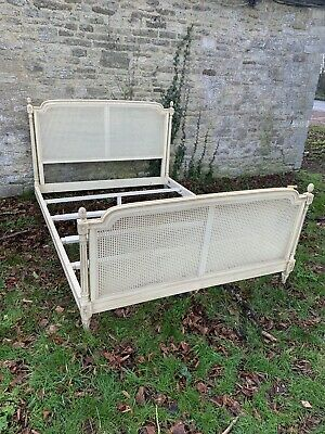 Louis XVI Reproduction french Painted 5' Bed