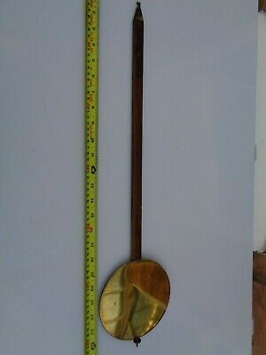 Weight Driven Vienna Wall Clock Pendulum 630 Mm Long Parts Spares