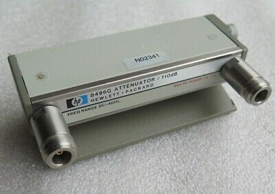 HP8496G Programmable Attenuator, DC to 4GHz, 0-110dB, GWO