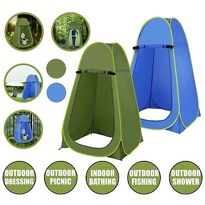 Pop-Up Privacy Tent Portable Outdoor Camping Shower Toilet Changing Room Hiking