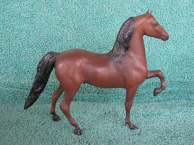 Breyer #9005 Brown Morgan Little Bits / Paddock Pals Made 1984-1988  Old Plastic