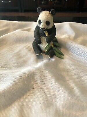 Schleich Panda Eating Bamboo