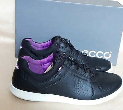 ECCO SENSE TOGGLE Yak Leather Women's Sneakers Shoes, UK 6