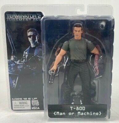 Terminator 2 Judgment Day T-800 Man or Machine NECA Figure
