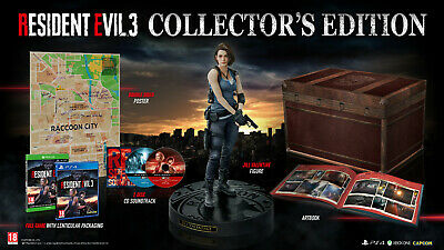 Resident Evil 3 REMAKE PS4 COLLECTOR'S EDITION NEW SEALED UK VERSION RARE