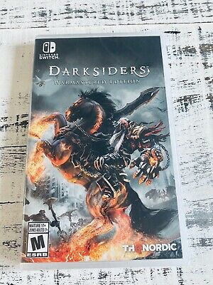 Darksiders Warmastered Edition Black Spine Rare Nintendo Switch Misprint Sealed