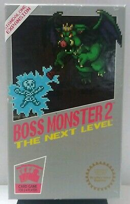 """Boss Monsters 2 """"The Next Level"""" Card Game by Brotherwise Games  2015"""
