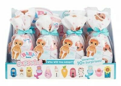 ✨ Baby Born Surprise! Full Display Case Box Of 12 Packs Authentic Mga Series 2 ✨