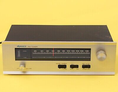 Dynaco FM-5 FM-MPX FM Stereo Tuner Made in USA 240V