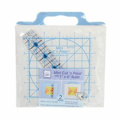 Cutting Mat Quilter's Cut 'n Press MINI  Teal - 5 in square