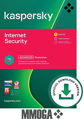 Kaspersky Internet Security 2020 (1user/1year) - 1 Appareil | 1 An - FR & UE
