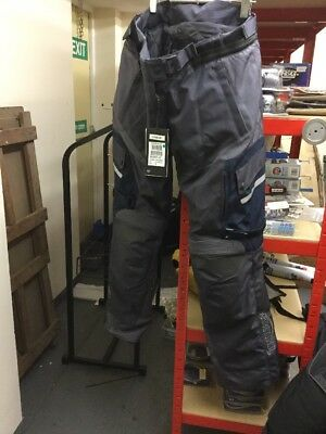 Triumph Ladies Grey/navy Navigator Trousers NEW Size 2L