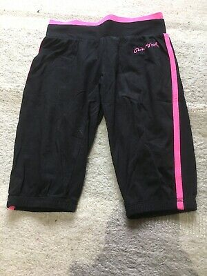 Girls Pineapple 3/4 Joggers - Size 4-5 Years