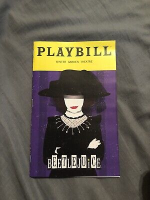 Beetlejuice Playbill January Special Edition!!! Comes With Insert!