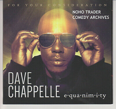 2018 Emmy Fyc DVD Dave Chappelle Equanimitry Live Pie Comedia Especial Netflix