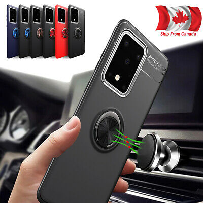 For Samsung Galaxy A51 A71 A91 magnetic Ring Holder Heavy Duty Case Stand Cover
