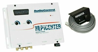AudioControl Epicenter Digital Bass Restoration Processor -WHITE +  Knob NEW