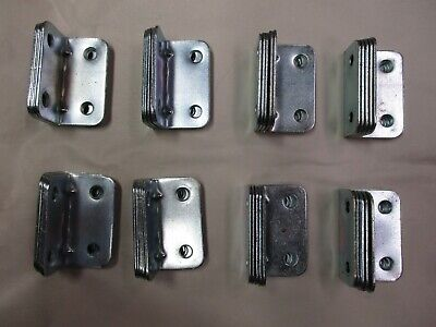 """40 of  2"""" x 1""""   Angle Brackets. Corner Braces Supports. Furniture. Repair,Wood"""