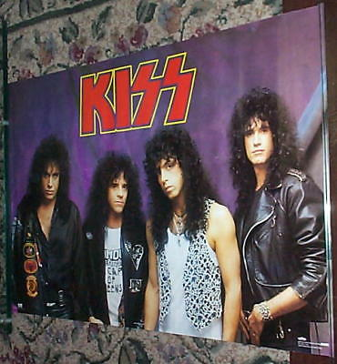 KISS with Eric Carr Vintage Group Poster
