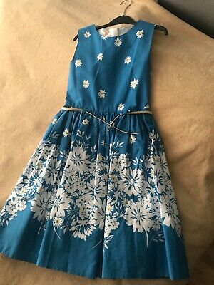 John Lewis girls dress size 12 years only worn once immaculate condition