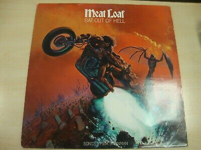 Meat Loaf Bat Out Of Hell Vinyl Album Lp Record Original 1977