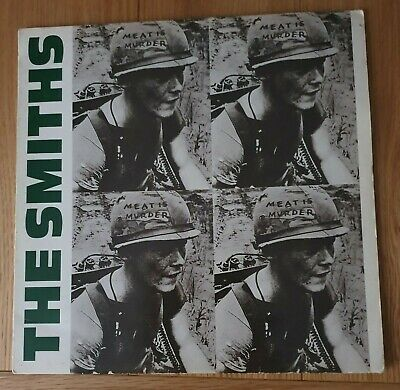 1985 THE SMITHS MEAT IS MURDER MUSIC BAND COVER ALBUM POSTER PRINT GZ2099