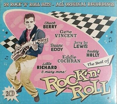 The Best Of Rock N Roll - 58 Rock'N'Roll Hits All Original Recordings - 2CDs