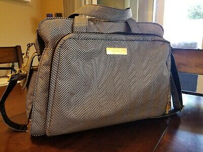 "Jujube ""Be Prepared"" baby Diaper Messenger Duffle Bag Ju-Ju-Be"