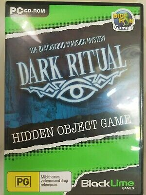 Dark Ritual - PC CD-ROM - Hidden Object Game - Big Fish Games