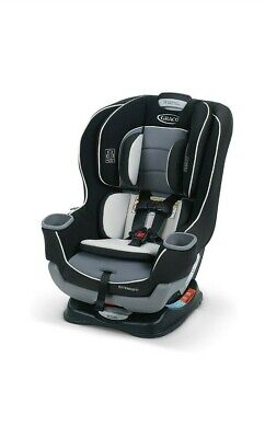 Car Seat Convertible Rear Front Facing Infant Toddler 4-65 lbs Graco Extend2Fit