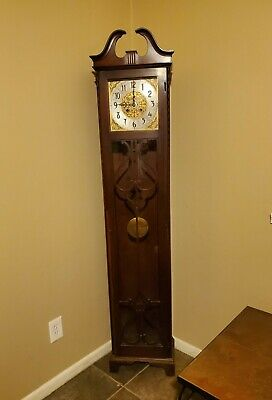Antique Grandfather clock by Colonial Manufacturing, Zeeland, Michigan