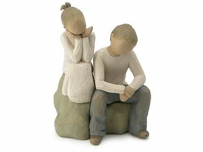Willow Tree 26187 Brother And Sister Figurine Figures Ornaments Collection Gift
