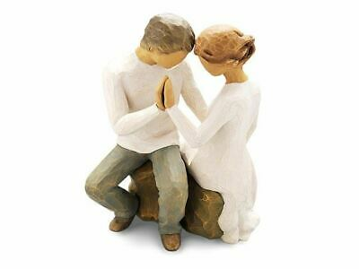 Willow Tree 27182 Around You Couple Figurine Figures Ornaments Collection Gift