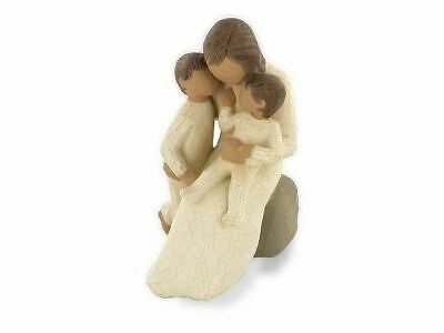 Willow Tree 26100 Quietly Family Hug Figurine Figures Ornaments Collection Gift