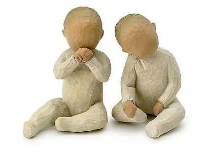 Willow Tree 26188 Two Together Baby Figurine Figures Ornaments Collection Gift
