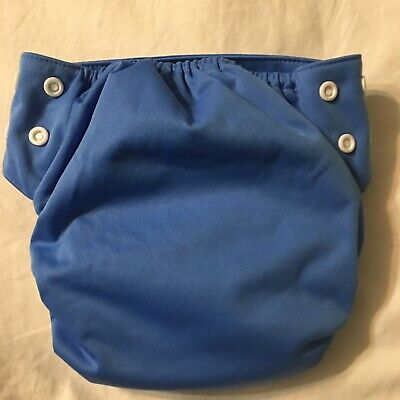 Swaddlebees Cloth Diaper Size Medium Blue