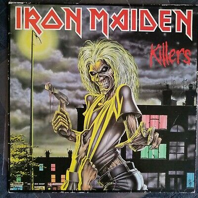 Iron Maiden ‎– Killers (original pressage) - VERY GOOD +