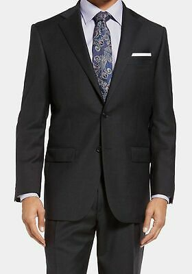$970 Hart Schaffner Marx Men's Classic Fit Wool Suit Blue Sport Coat Jacket 48R