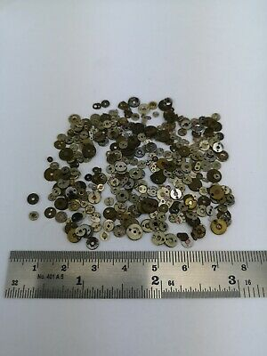 Selection of Pocket Watch Jewels - Jewel Caps - Spare Parts for Repair Work (6D)