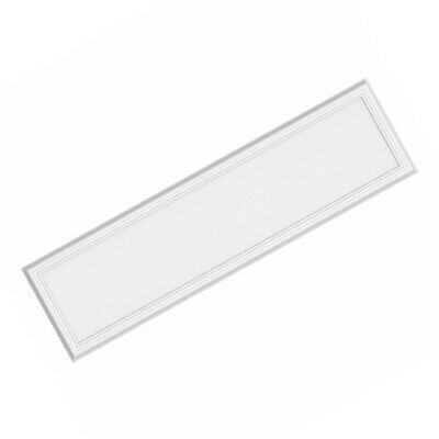 Commercial Electric 1 ft x 4 ft Dimmable LED  Flat Panel Flush Mount White
